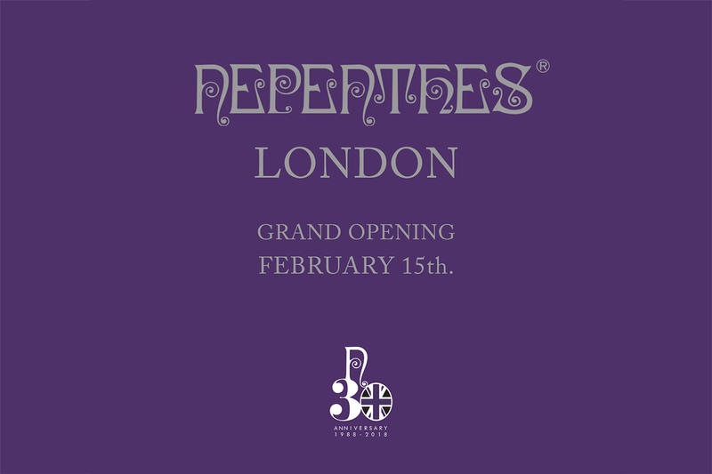 NEPENTHES London Store Grand Opening NEEDLES Engineered Garments AiE Filphies Japan First Look