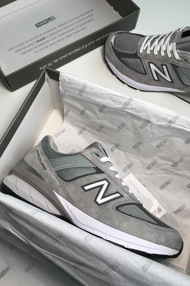 cheap for discount 36a93 477ef New Balance 990v5 First Look | HYPEBEAST