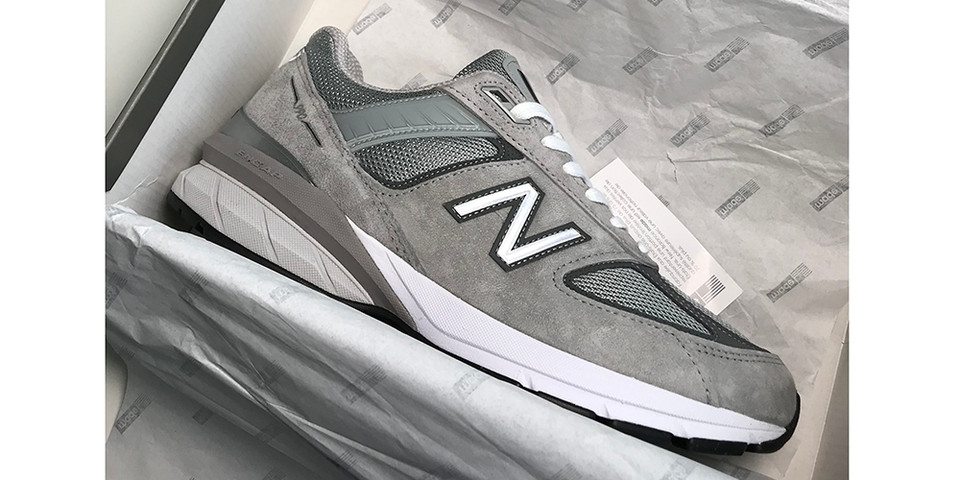 cheap for discount 64e15 4abc7 New Balance 990v5 First Look | HYPEBEAST