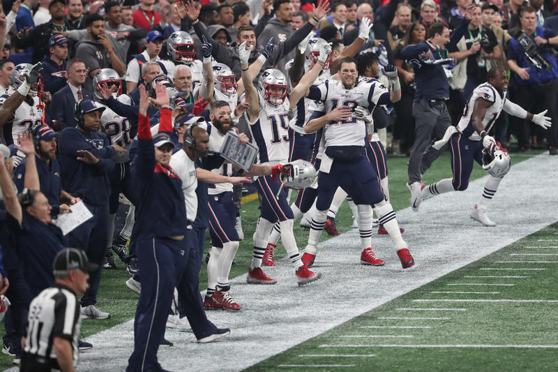 New England Patriots Los Angeles Rams Super Bowl LIII Win Recap halftime performance Bill Belichick MVP Tom Brady