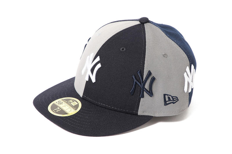 73d94d9f BEAMS new era yankees collab crazy panel hat cap flatbrim branding logo  patchwork release date drop