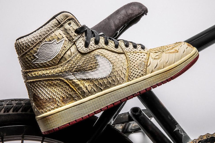 73dcc4b134be Nigel Sylvester s Nike Air Force 1 NIKEiD in NYC
