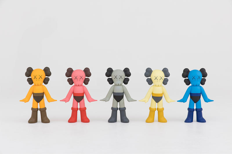 "NIGO x Sotheby's Hong Kong ""NIGOLDENEYE®"" Auction KAWS companions original artwork BAPESTA FS-029 KAWS Chompers THE KAWS ALBUM Futura, Untitled (Pointman) KIMPSONS SERIES (Two Works) Stash, FOUR PACK"