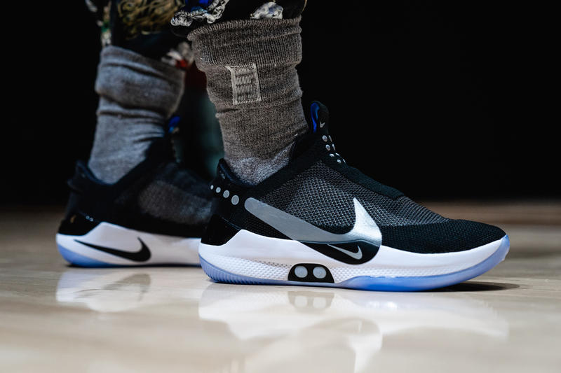 nike adapt bb sneaker release malfunction digital shoe self-lacing