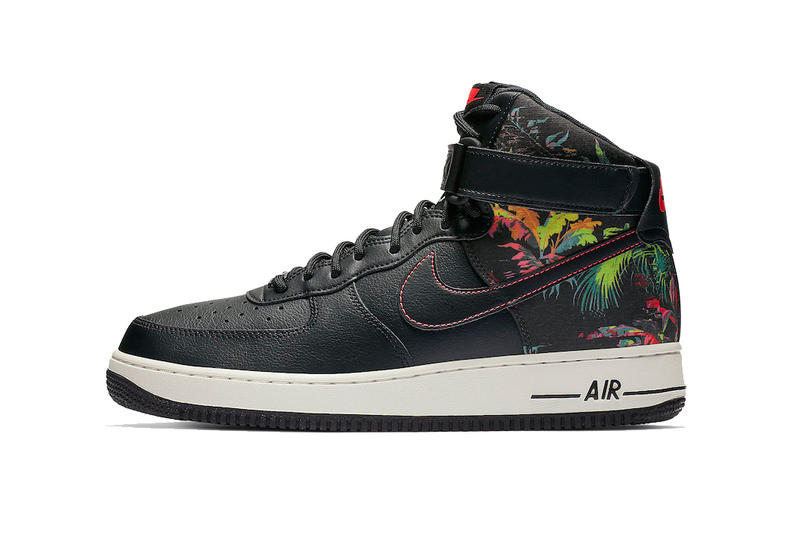 reputable site 3c2aa 78665 nike air force 1 high black floral 2019 footwear nike sportswear shoes  sneaker spring february release