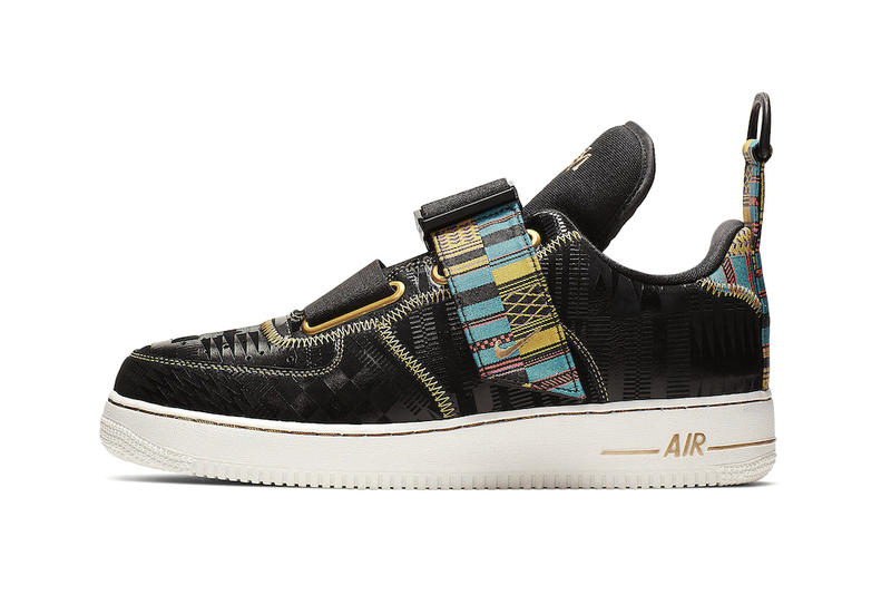 ee2f05a385b Nike Air Force 1 Utility BHM Release Info sneakers fashion shoe nike black  history month