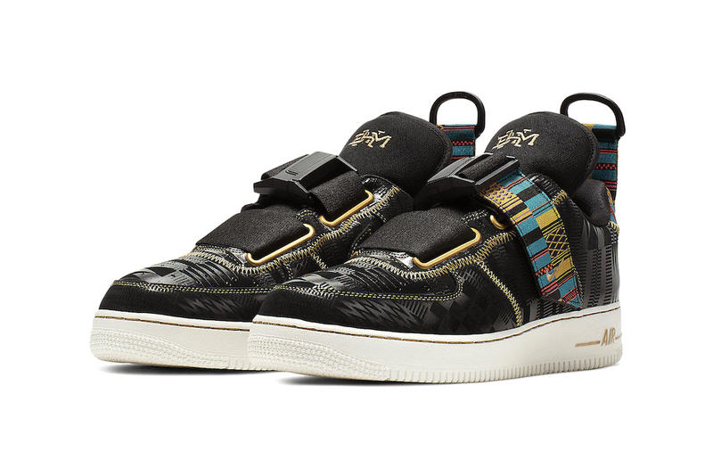 Nike Air Force 1 Utility BHM Release Info sneakers fashion shoe nike black history month