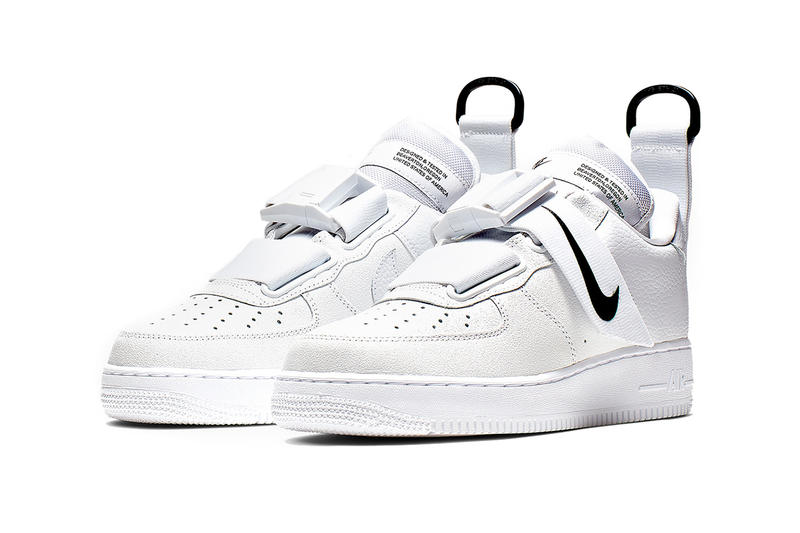 nike air force 1 utility white black 2019 february nsw nike sportswear footwear