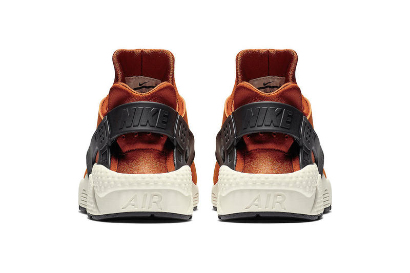 "Nike Air Huarache ""Firewood Orange"" Release Info ""Firewood Orange/Campfire Orange-Sail-White"" 318429-802 pricing stockist available now web store retailer drop"
