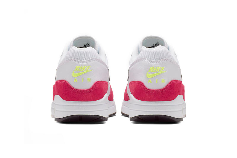 nike air max 1 rush pink volt white black 2019 april release date footwear nike sportswear nsw