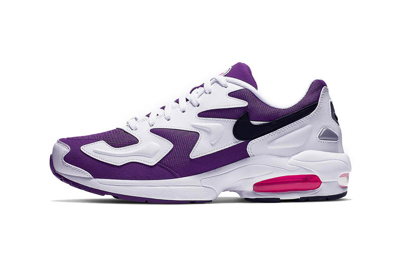 nike air max 2 light 2019 footwear nike sportswear max2 purple berry white black punk