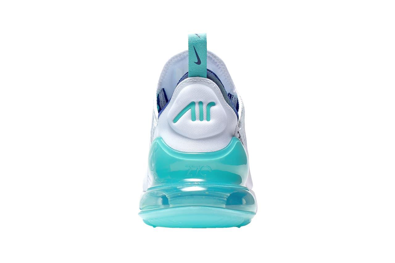 Nike Air Max 270 Hype Jade Colorway sneaker Release Date hyper jade