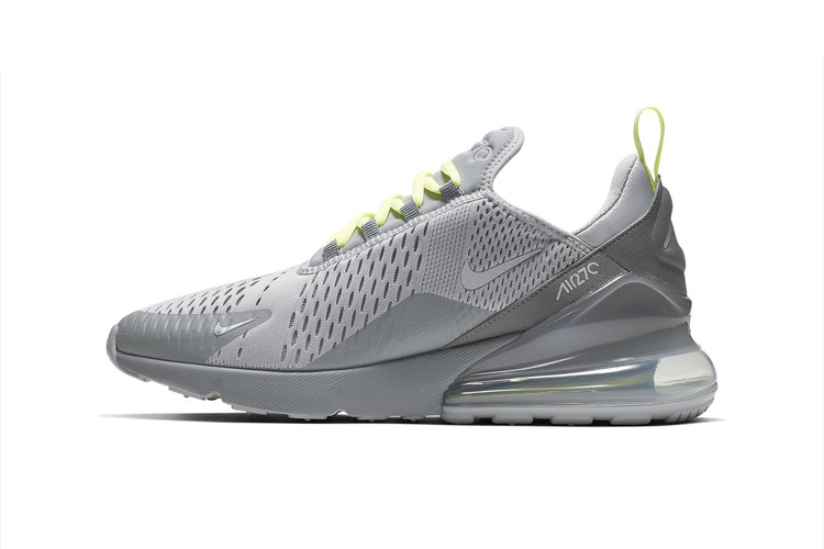 c26f29ae606 Nike s Air Max 270 Surfaces in Volt-Tinged Colorways