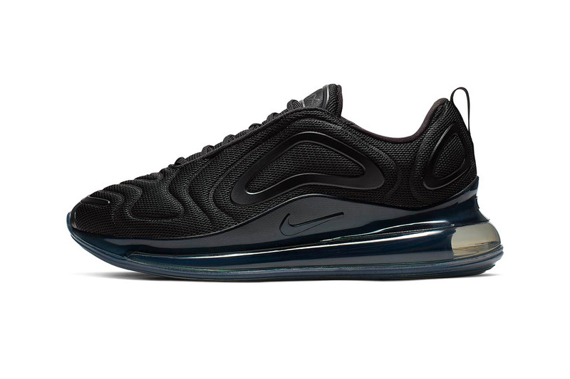 """The Nike Air Max 720 Goes Sleek With a """"Triple Black"""" Colorway"""