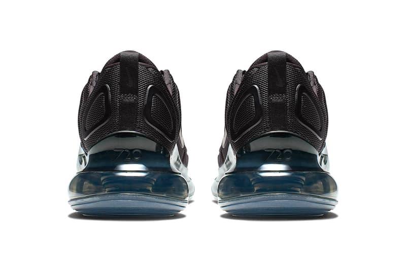 Nike Air Max 720 Triple Black Release Info Date mesh