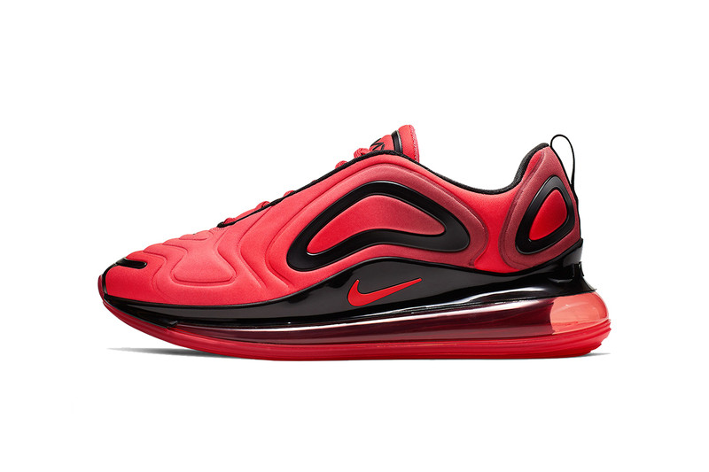 """Nike Air Max 720 Welcomes an Ultra-Vibrant """"University Red"""" Colorway"""