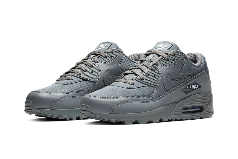 "4a42330deeb Nike's Air Max 90 Goes Neutral in ""Cool Grey"""