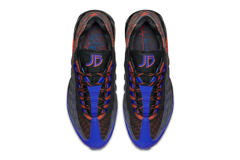 "Nike Brings Back Jacob Burris' Air Max 95 ""Doernbecher"" air max 95 premium blue red freestyle anniversary release drop date raffle draw images price info footwear Oregon"