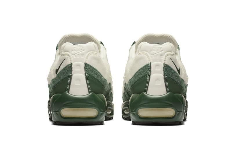 nike air max 95 sail green 2019 nike sportswear footwear American Sycamore tree white off