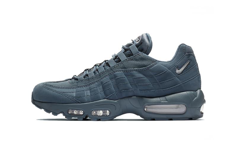 new concept 09d6d 4348f nike air max 95 armoury blue white 2019 footwear sportswear jewel armory  swoosh cj0423 400