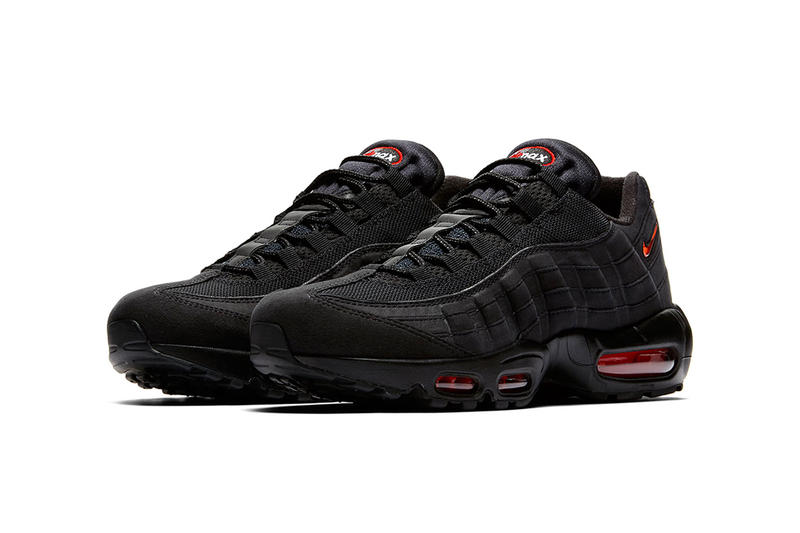 Nike Ornaments New Air Max 95 With Jewel Swoosh black red release drop price images footwear info