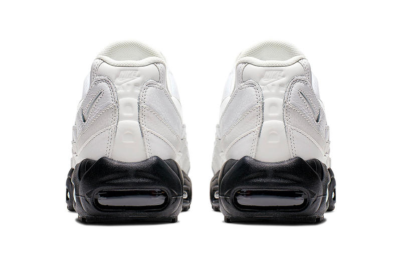 "Nike Air Max 95 ""Summit White"" Release Info ""Summit White/Sumer White-Black"" drop info stockist pricing april 1 web store retailers"