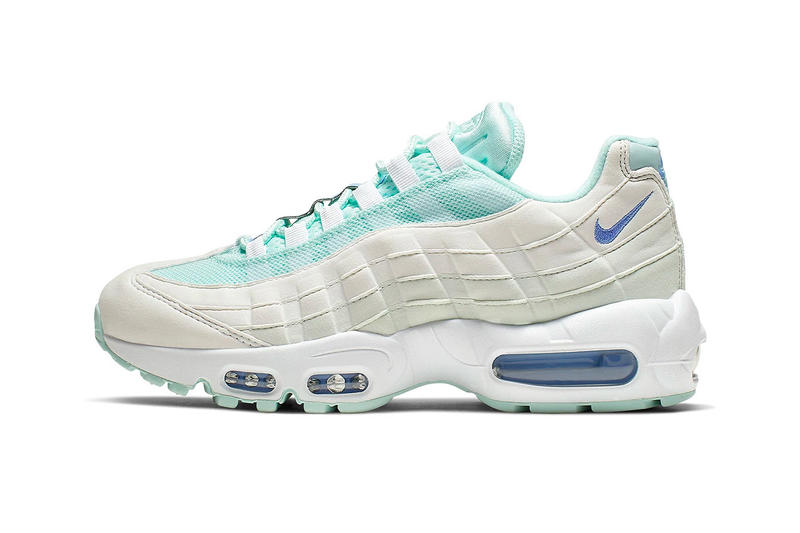 newest 5a2e0 9ac34 Nike Air Max 95 Teal Royal Release Tint Pulse White Summit White