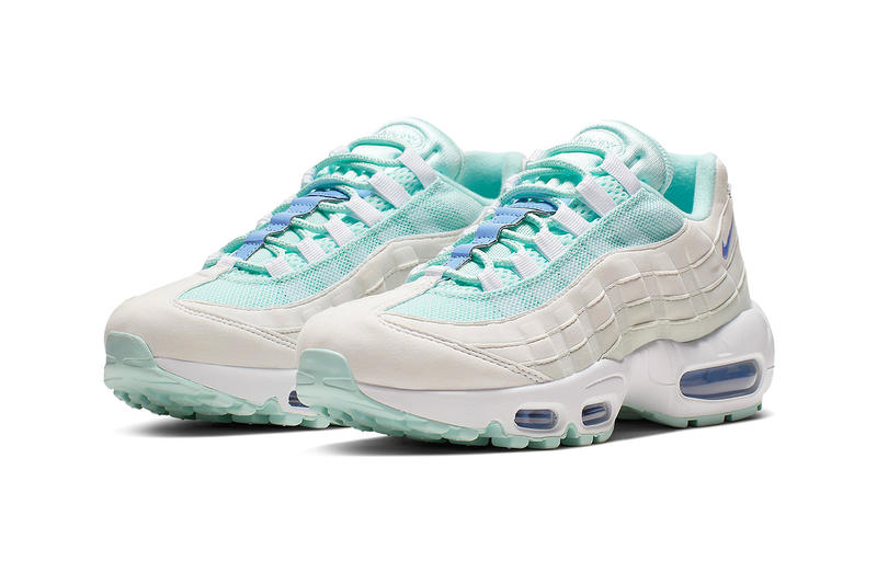 Nike Air Max 95 Teal Royal Release Tint Pulse White Summit White
