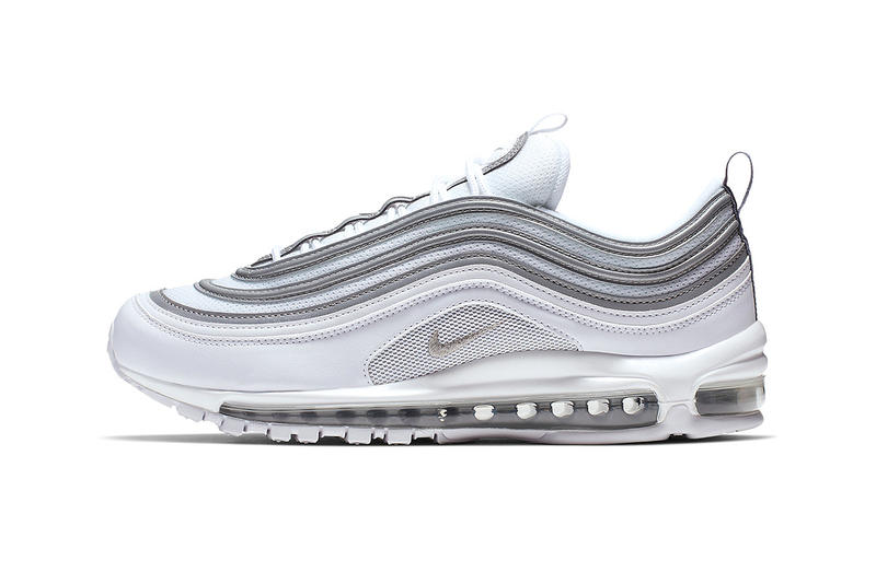 22c508eb7f Nike Air Max 97 silver white grey bullet release date details first look  classic colorway