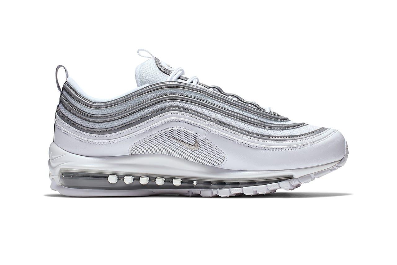 Nike Air Max 97 in Metallic Silver