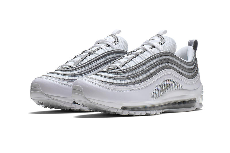 a4980e145a Nike Air Max 97 silver white grey bullet release date details first look  classic colorway