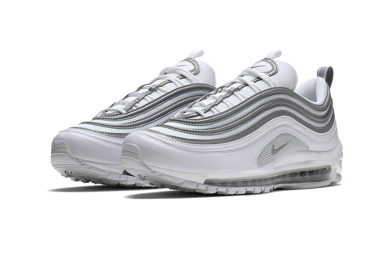 ventana Pensar en el futuro Continuamente  Nike Air Max 97 in Metallic Silver & White | HYPEBEAST