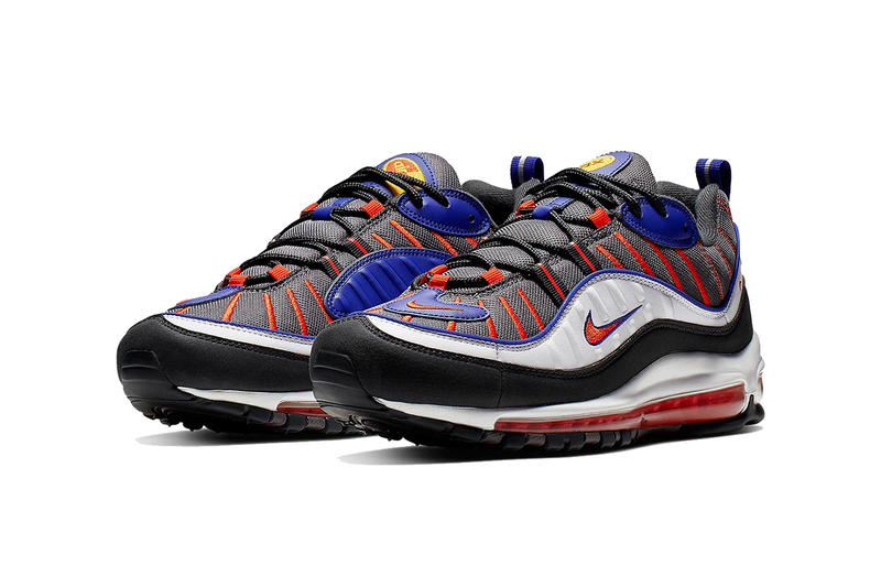the latest 9366d a4fc7 Nike Air Max 98 Grey Orange White Black | HYPEBEAST