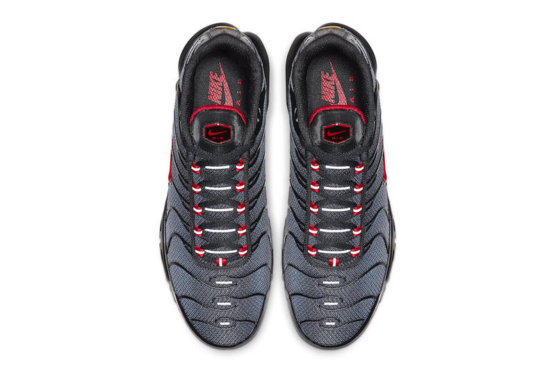Nike Dresses New Air Max Plus With Monotone Gradient black red drop release date info images price footwear