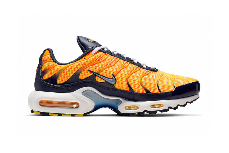 cheap for discount 7ea0c 36a79 Nike Air Max Plus Navy And Orange Release Info nike fashion sneakers shoes