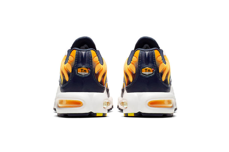 Nike Air Max Plus Navy And Orange Release Info nike fashion sneakers shoes