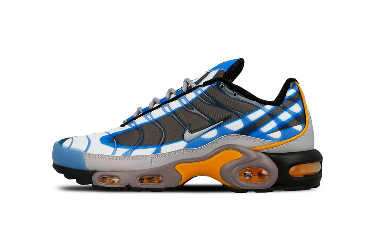 super popular f93d1 bf0b5 Nike s Latest Air Max Plus Premium Gets Fused with an Air Max Plus