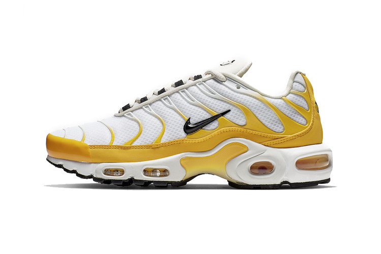054f3cd9ca7b Nike s Air Max Plus SE Gets a Vibrant Mix of White and Yellow