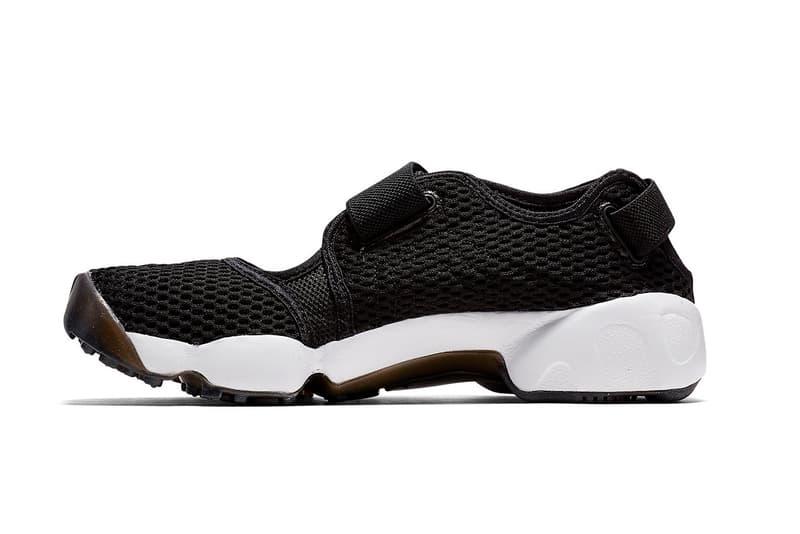 The Nike Air Rift Makes a Welcomed Return white black japan ninja toe tabi design