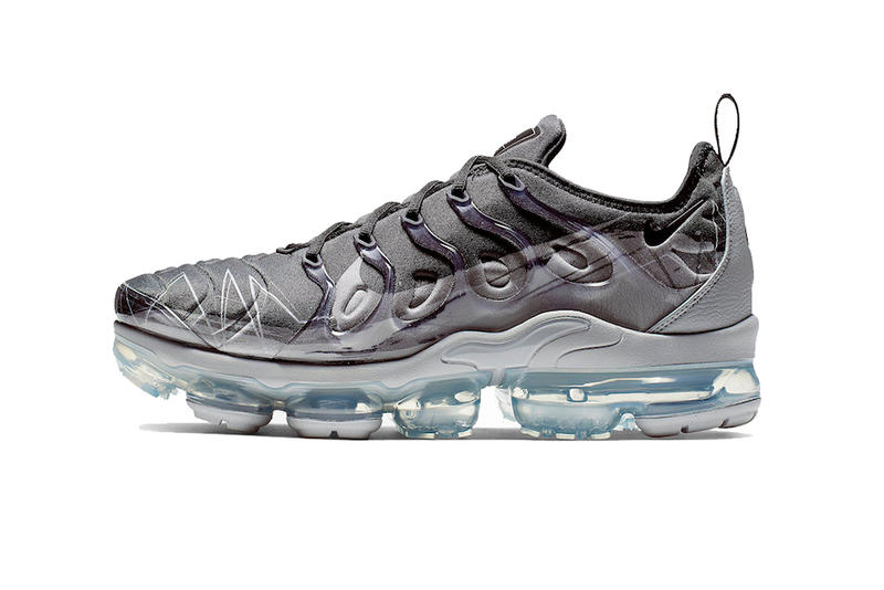 hot sale online ce32d 5239d nike air vapormax plus black wolf grey 2019 march footwear nike sportswear