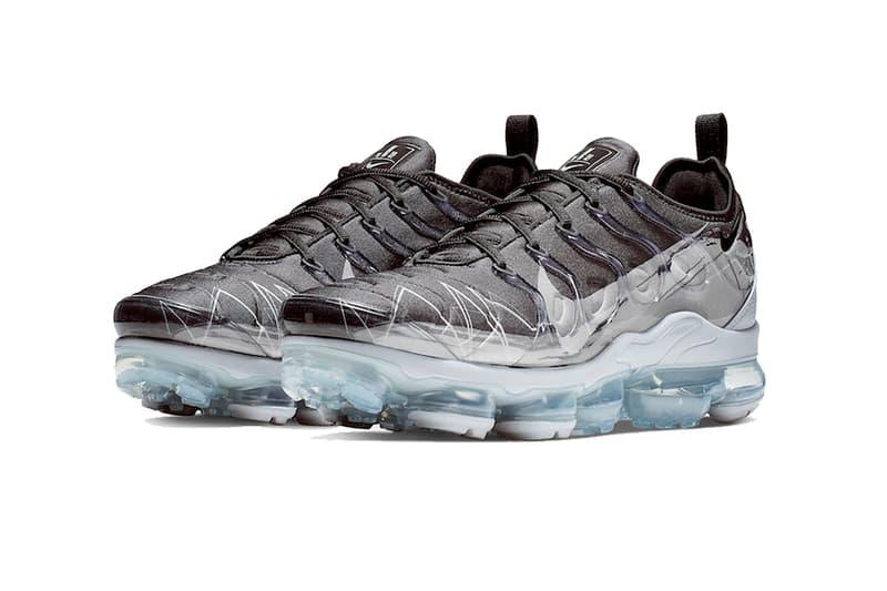 nike air vapormax plus black wolf grey 2019 march footwear nike sportswear