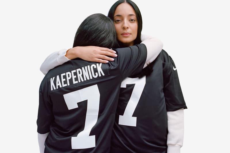 "Nike Debuts Colin Kaepernick ""True to 7"" Jerseys nfl sports football swoosh"