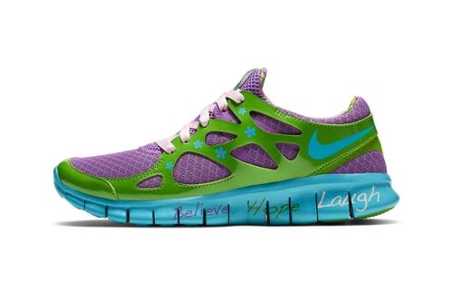"Nike Relaunches Mackenzie Short's Free Run 2.0 ""Doernbecher"""