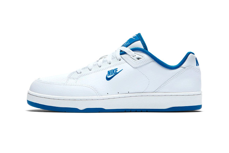 efff1f6a561b The Classic Nike Grandstand II Tennis Shoe Now Comes in White Royal