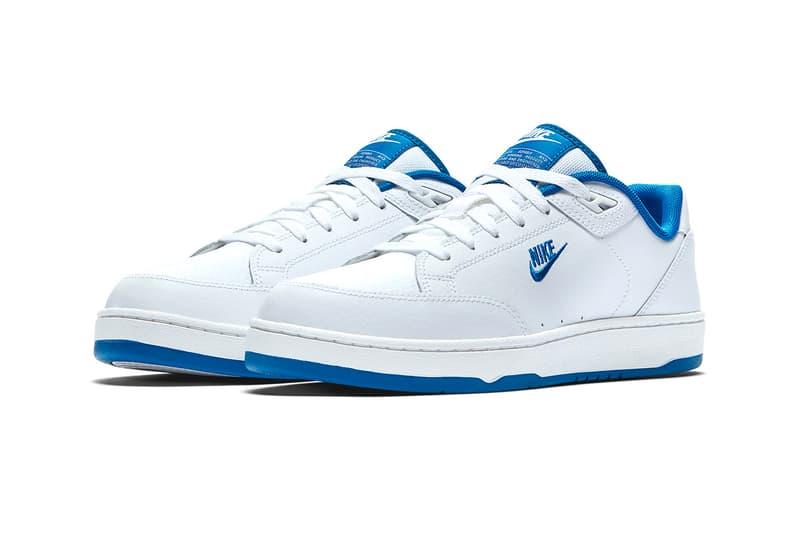 Nike Grandstand II White Royal Gum Release
