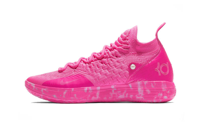 the best attitude a4982 0f1a5 nike kd 11 release date 2019 february laser fuchsia kevin durant footwear  nike basketball. 1 of 4