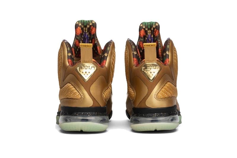 05b5ca50f30 nike lebron 9 watch the throne gold sample lebron james footwear jay-z  kanye west