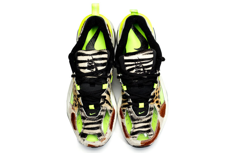 7a2603c6825a Nike M2K Tekno Animal Print Volt Dad Shoes 5000 Pairs Limited Edition  CI9631-037 Closer