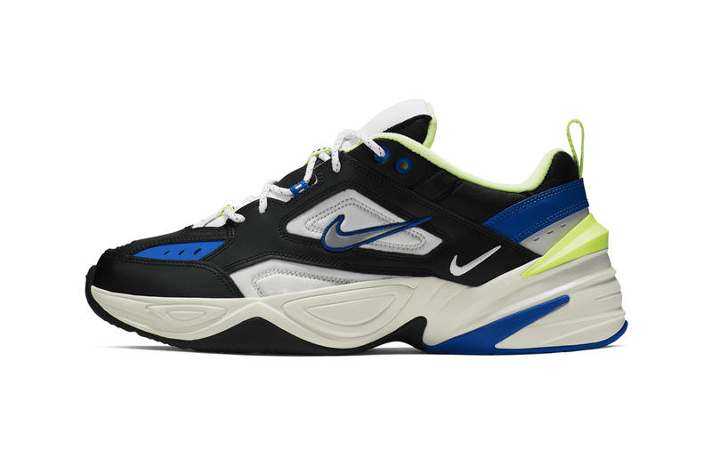 Nike's M2K Tekno Gets the Royal & Volt Treatment release info stockist pricing date CI2969-002 march 2019 chunky shoe sneaker trainer