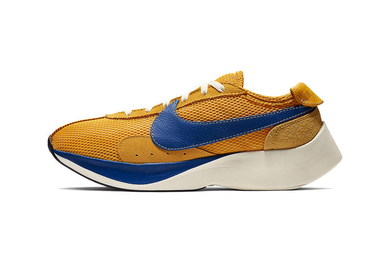 nike moon racer 2019 footwear nike sportswear nike running yellow blue blue red